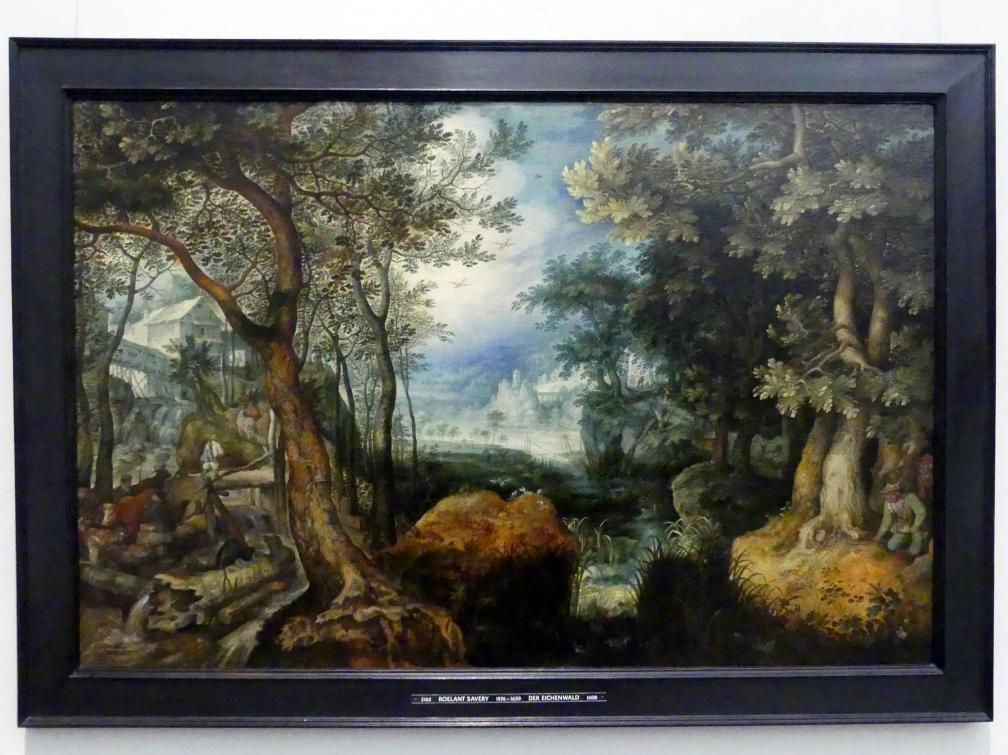 Roelant Savery: Der Eichenwald, 1608