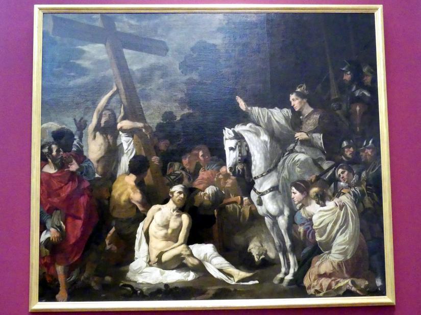 Gerard Douffet: Auffindung und Prüfung des Wahren Kreuzes Christi, 1623 - 1624
