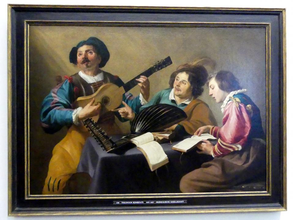Theodoor Rombouts: Musikalische Gesellschaft, Undatiert