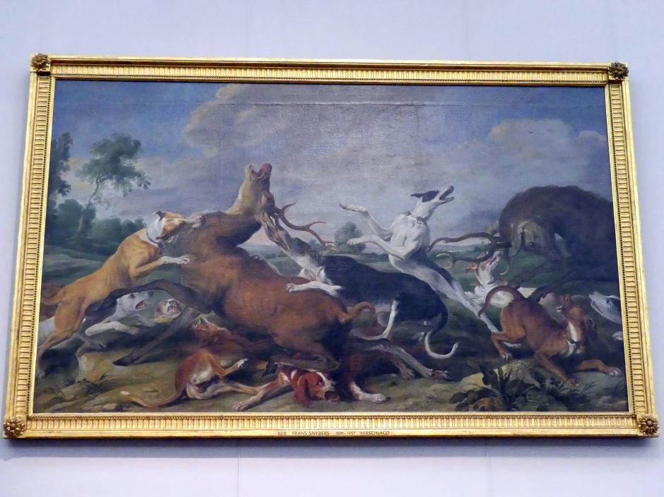 Frans Snyders: Hirschjagd, Undatiert