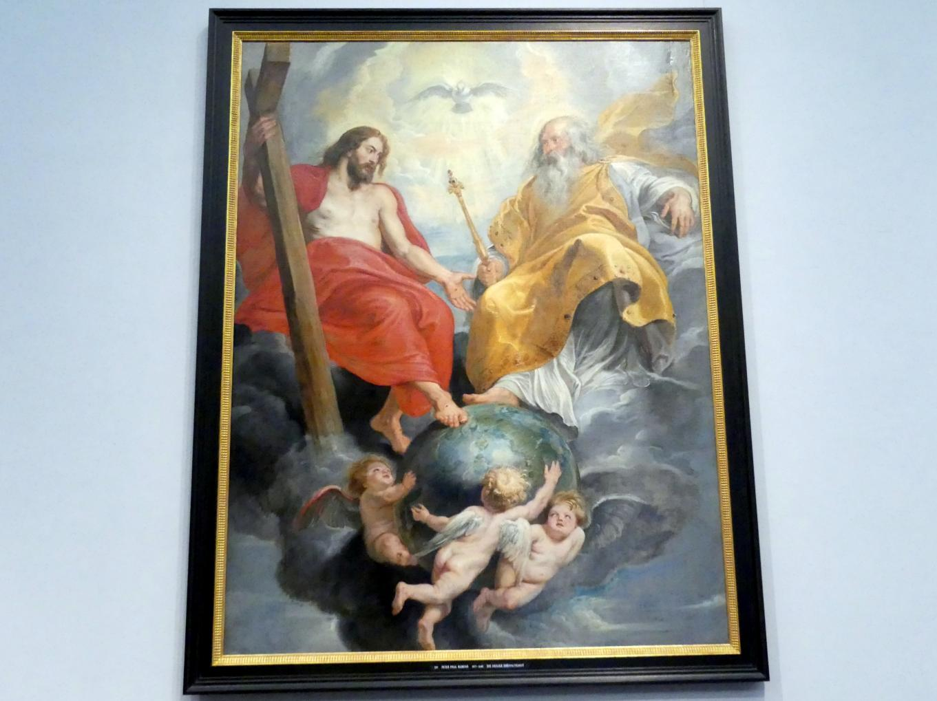 Peter Paul Rubens (Werkstatt): Die Heilige Dreifaltigkeit, 1620 - 1625