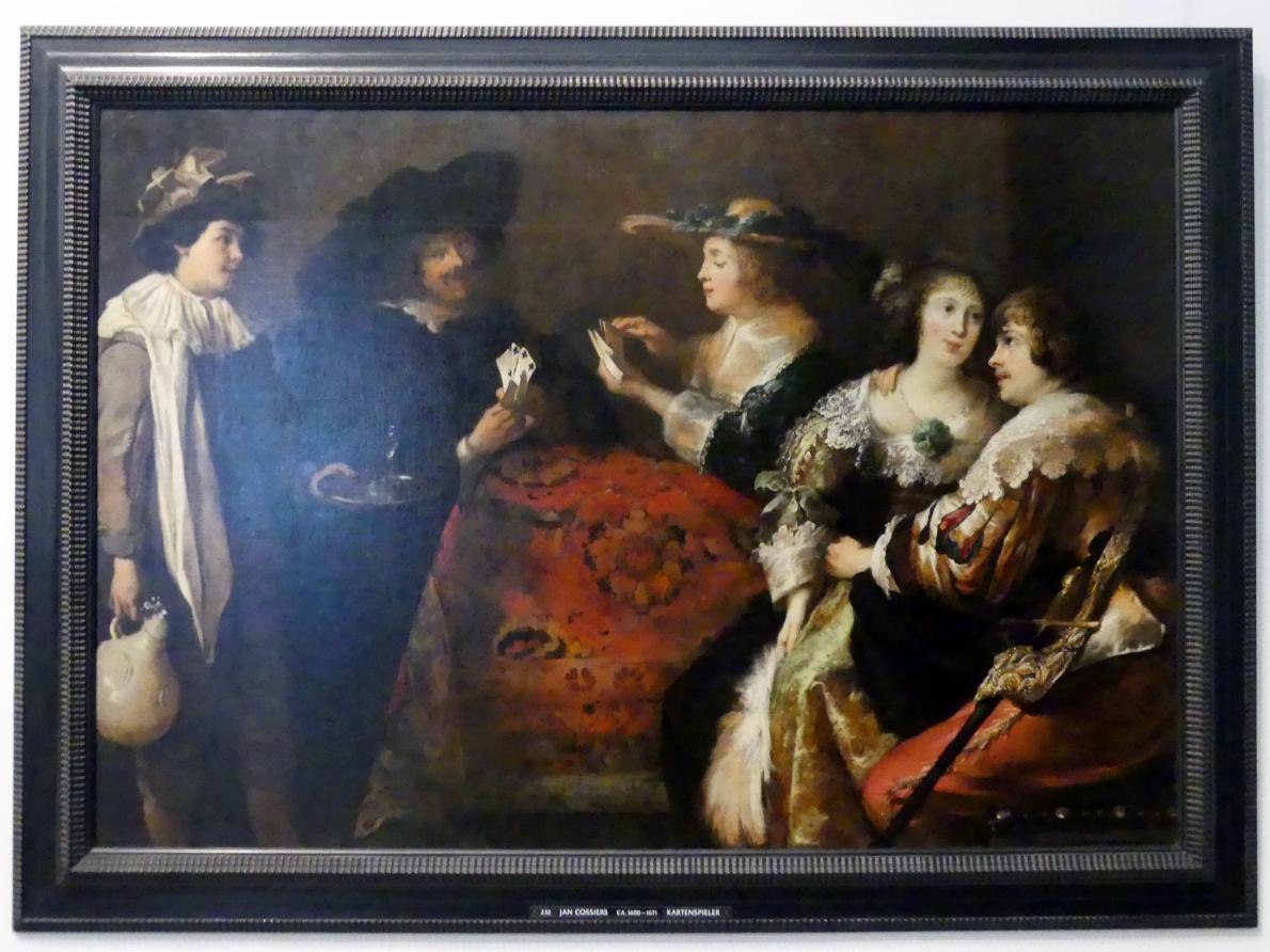 Jan Cossiers: Kavalier und Dame, Undatiert
