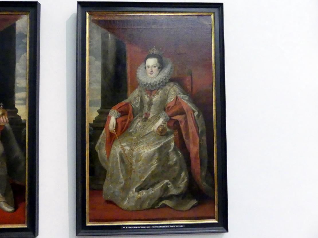 Portrait der Constanze, Königin von Polen, 1. Hälfte 17. Jhd.