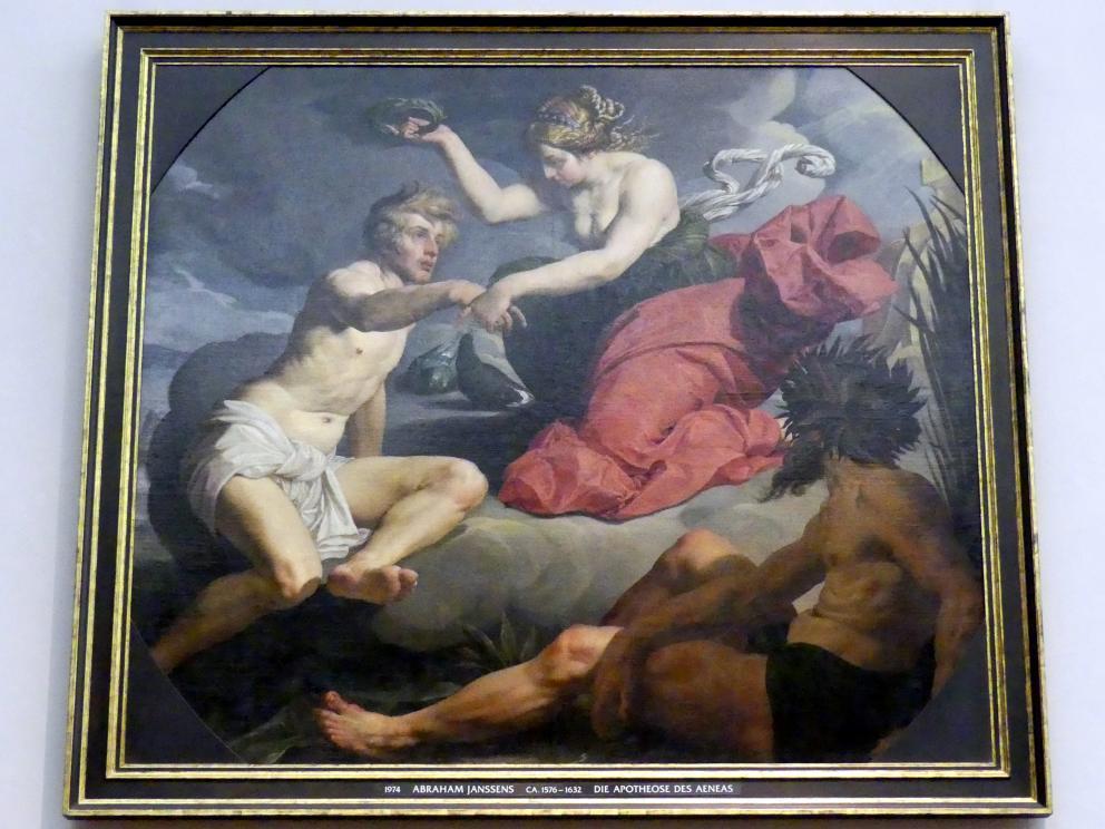 Abraham Janssens van Nuyssen: Die Apotheose des Aeneas, Um 1620 - 1630