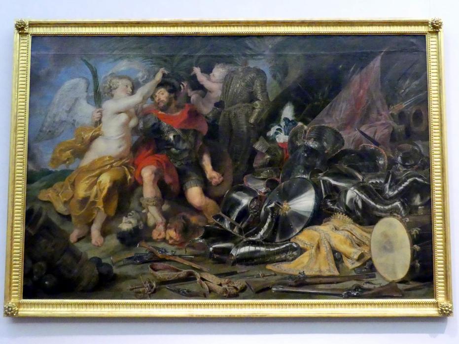 Peter Paul Rubens: Mars von einer Viktorie gekrönt, 1. Hälfte 17. Jhd.