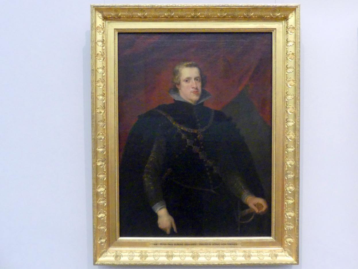 Peter Paul Rubens (Werkstatt): Philipp IV. König von Spanien, Undatiert