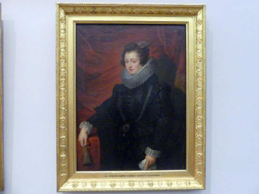 Peter Paul Rubens (Werkstatt): Elisabeth von Bourbon, Undatiert