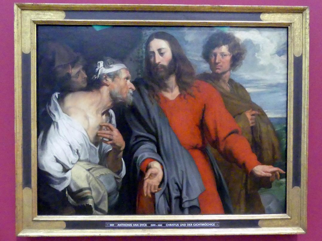 Anthonis (Anton) van Dyck: Christus und der Gichtbrüchige, Undatiert