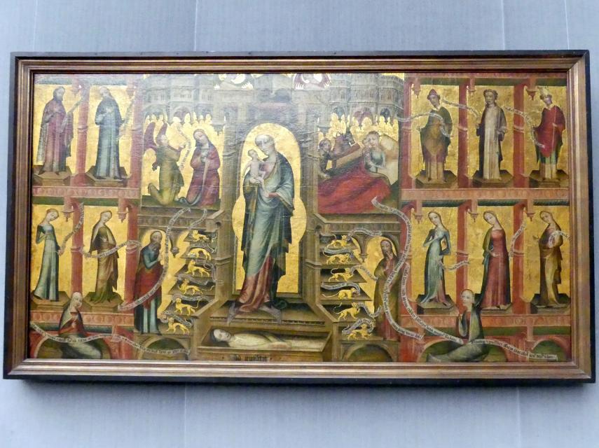 Maria als Thron Salomonis, Undatiert