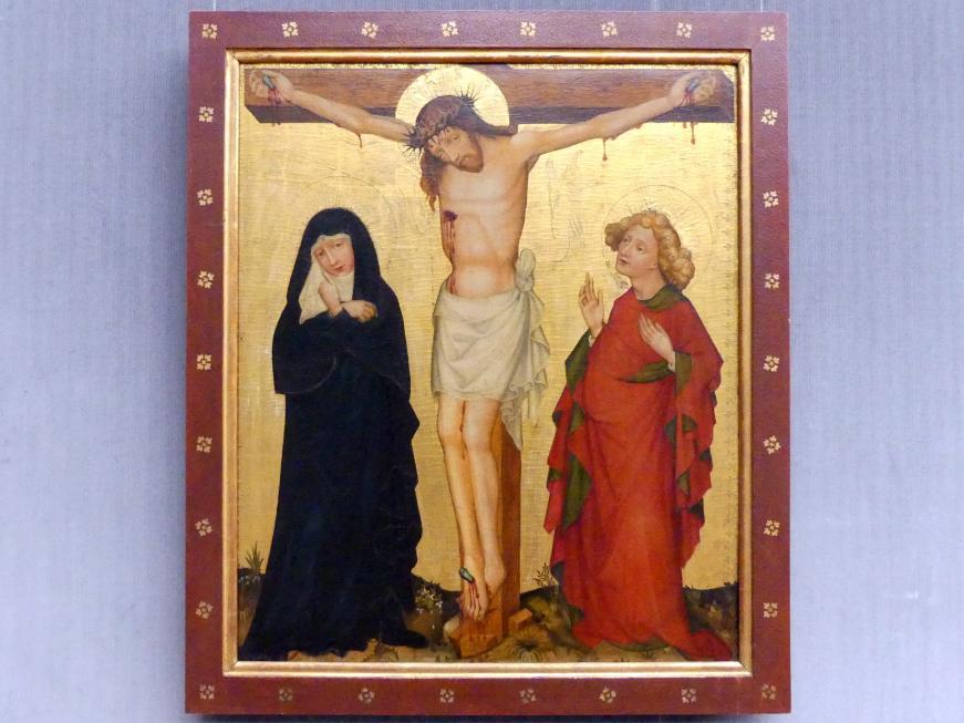 Christus am Kreuz, Um 1400