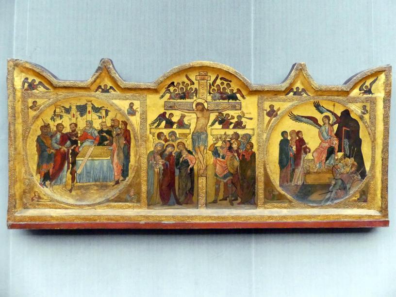 Altarretabel mit der Kreuzigung Christi, Um 1230 - 1240