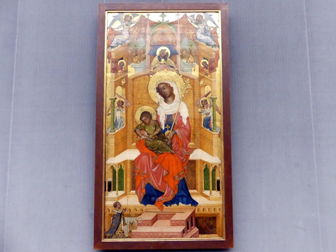 Meister von Hohenfurth: Thronende Maria mit Kind (Glatzer Madonna), Um 1340 - 1350