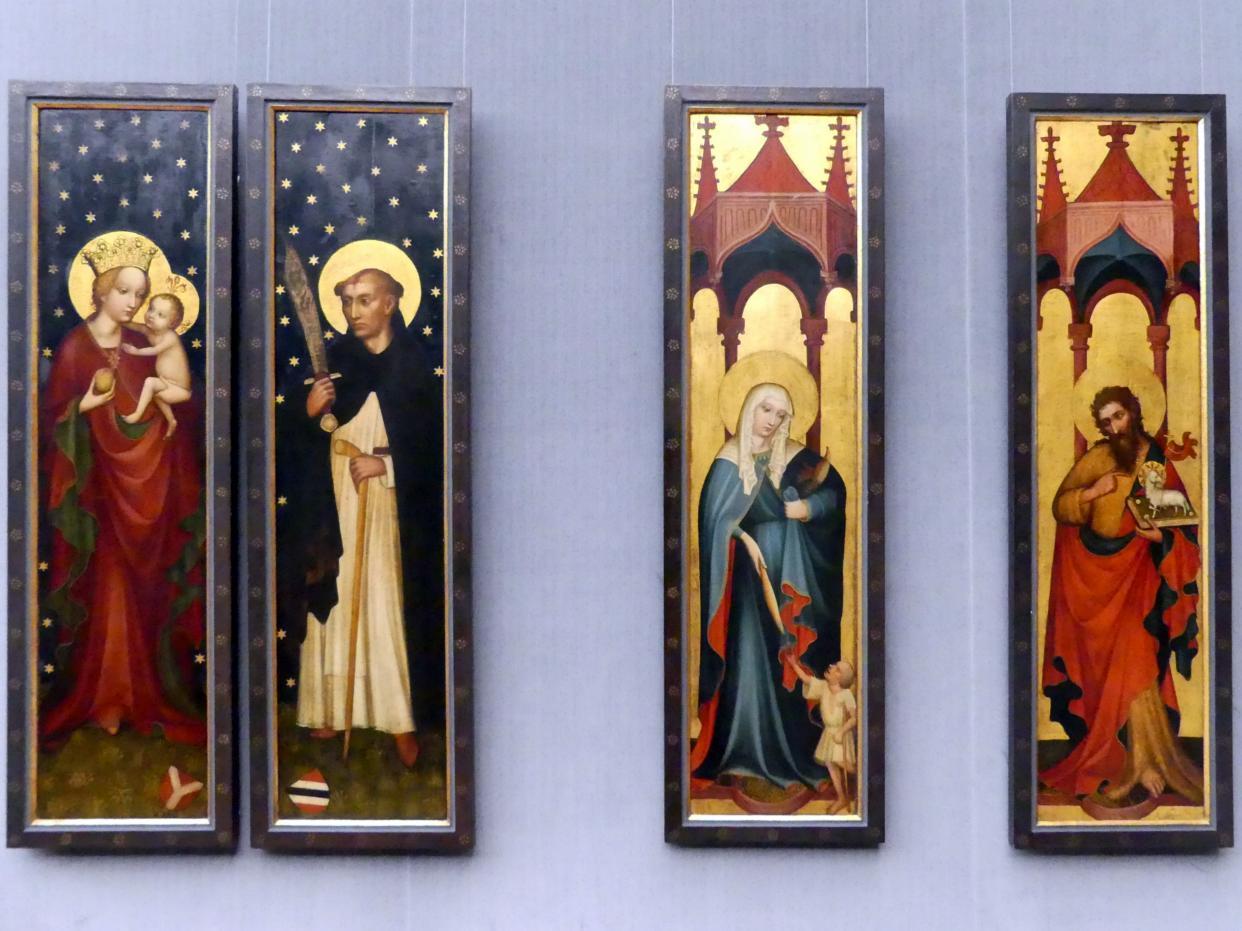Meister des Deichsler Altares: Die Flügel des Deichsler Altares, Um 1415 - 1420