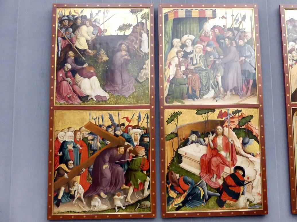 Hans Multscher: Die Flügel des Wurzacher Altars, 1437