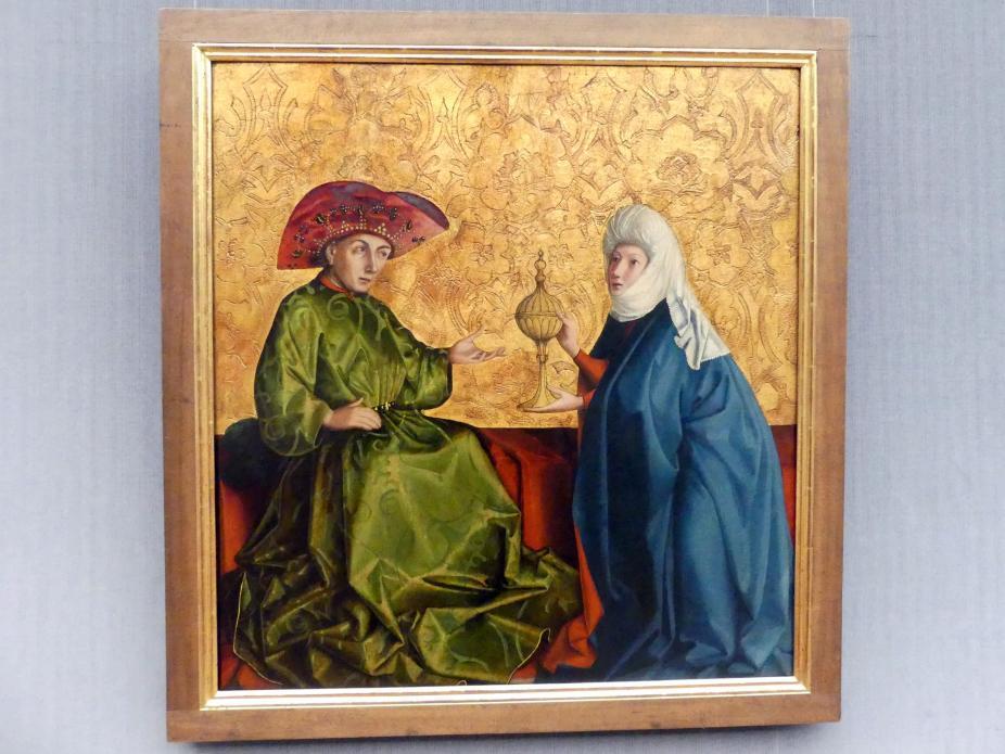 Konrad Witz: Die Königin von Saba vor Salomo, um 1435 - 1437