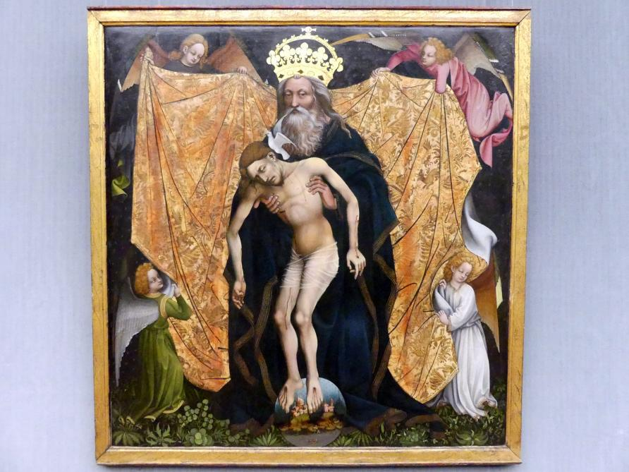 Die Heilige Dreieinigkeit (Gnadenstuhl), Um 1420