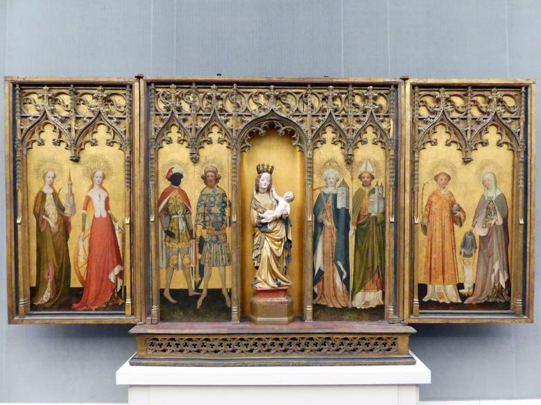 Meister des Gereon-Altars: Marienaltar aus St. Gereon, um 1420 - 1430, Bild 1/2