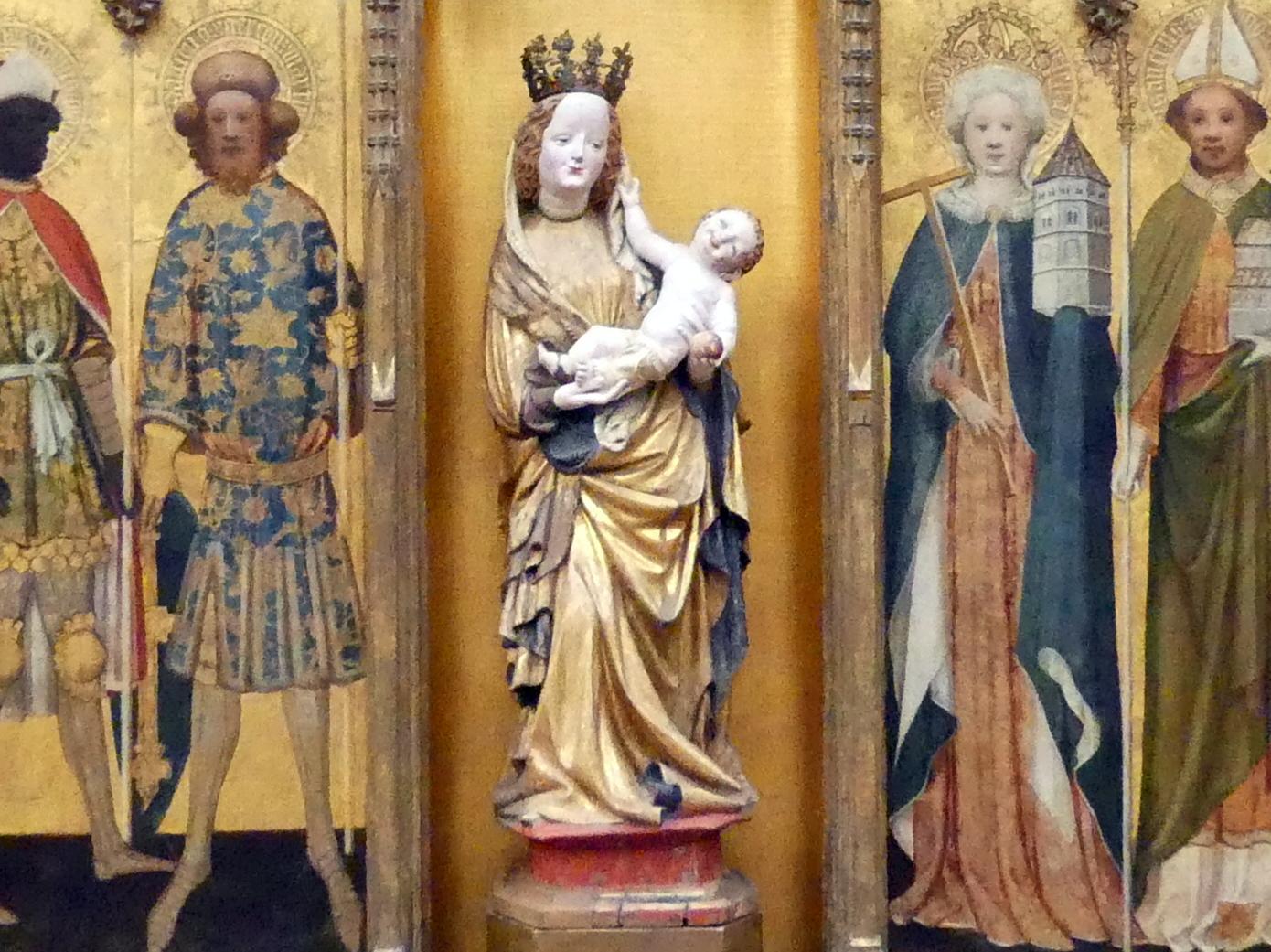 Maria mit dem Kinde, Um 1430