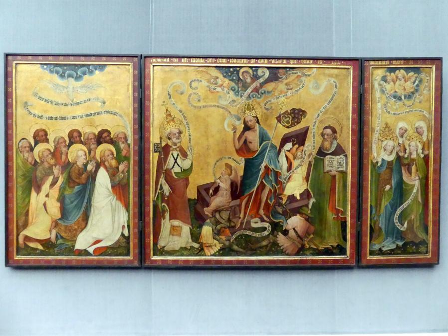 Auferstehungsaltar aus Arnstadt, um 1430