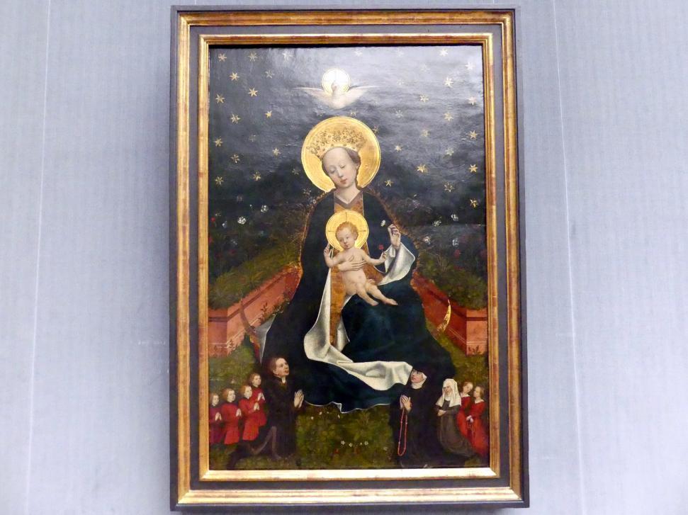 Meister von 1456: Die Madonna auf der Mondsichel, um 1450 - 1460