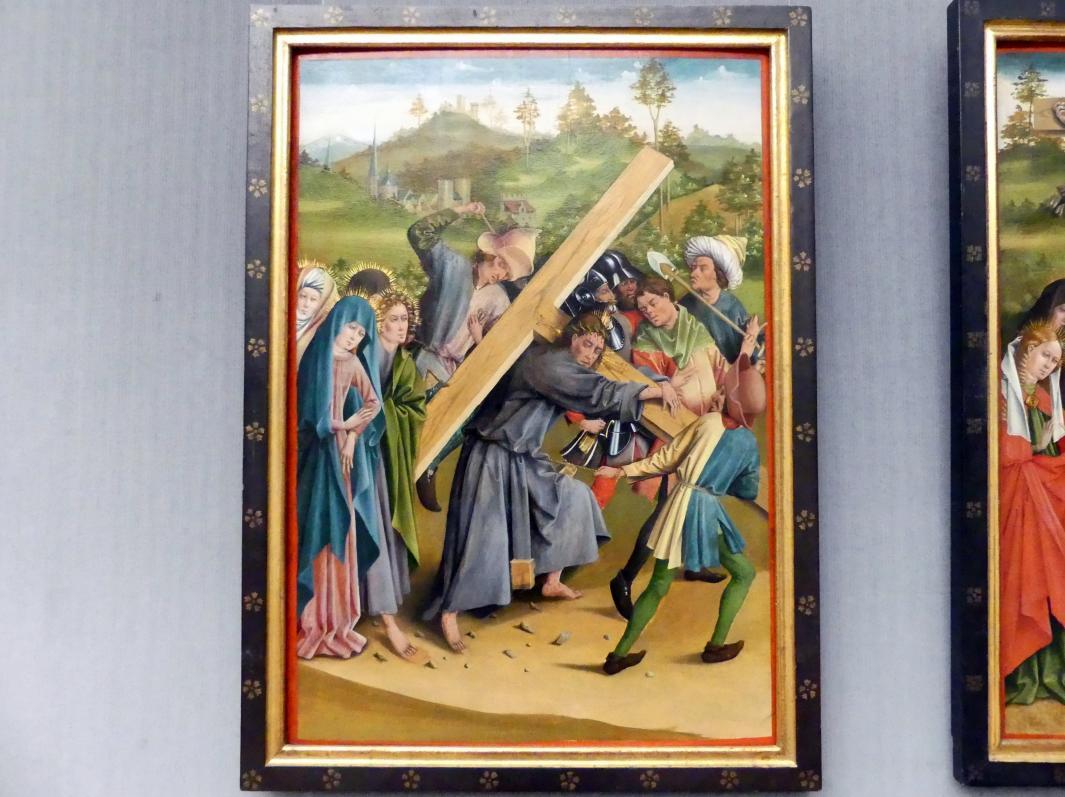 Johann Koerbecke: Die Kreuztragung Christi, 1457