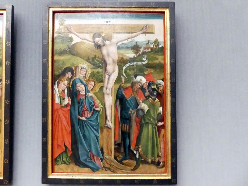 Johann Koerbecke: Die Kreuzigung Christi, 1457