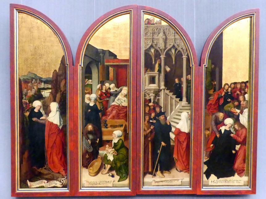 Bernhard Strigel: Die Flügel des Schussenrieder Marienaltares, um 1515