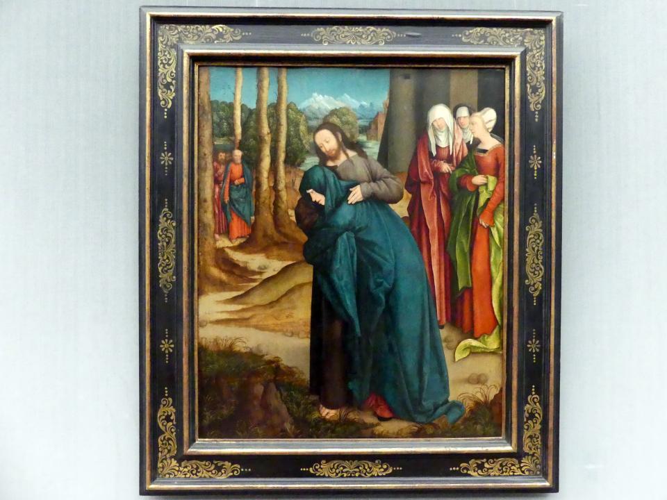 Bernhard Strigel: Christus nimmt Abschied von seiner Mutter, um 1520
