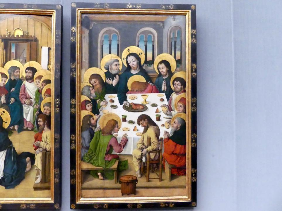 Meister des Hausbuchs: Das Abendmahl, um 1475 - 1480