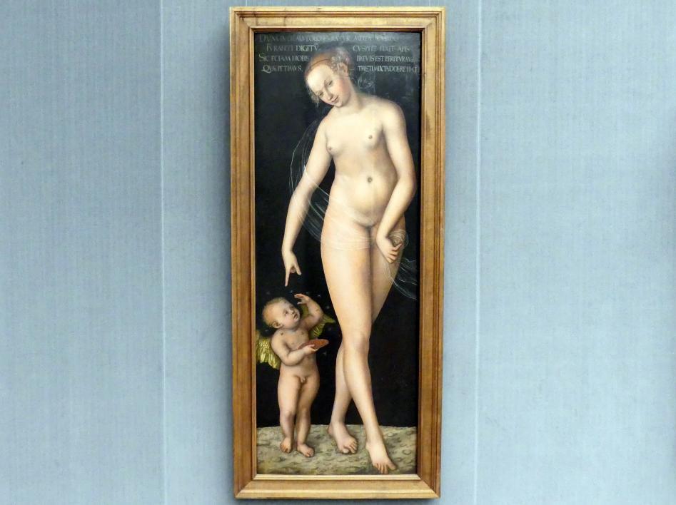 Lucas Cranach der Ältere: Venus und Amor als Honigdieb, nach 1537
