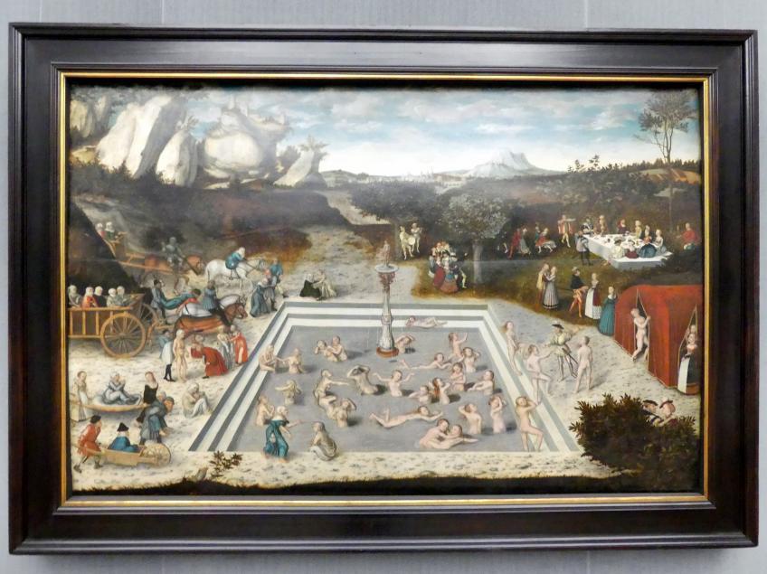 Lucas Cranach der Ältere: Der Jungbrunnen, 1546