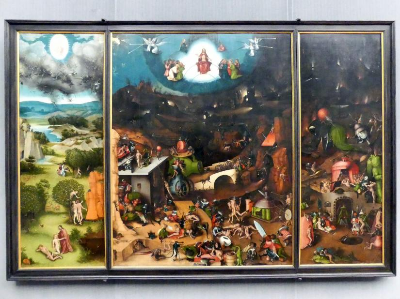 Lucas Cranach der Ältere: Flügelaltar mit dem Jüngsten Gericht, um 1524