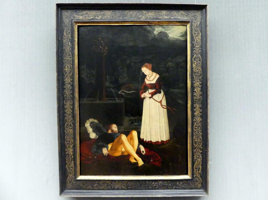 Hans Baldung Grien: Pyramus und Thisbe, Um 1530