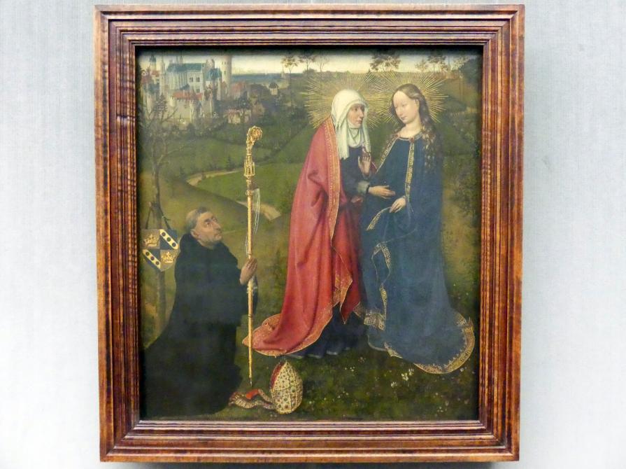 Jacques Daret: Szenen aus dem Leben des hl. Bertin, 1434 - 1435