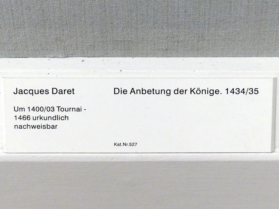 Jacques Daret: Die Anbetung der Könige, 1434 - 1435