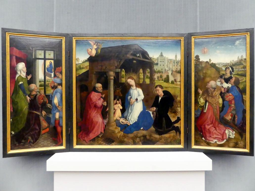 Rogier van der Weyden: Der Middelburger Altar (Bladelin-Altar), Um 1445 - 1450