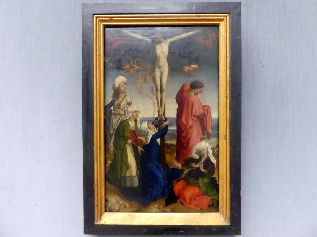 Rogier van der Weyden (Werkstatt): Die Kreuzigung Christi, um 1440