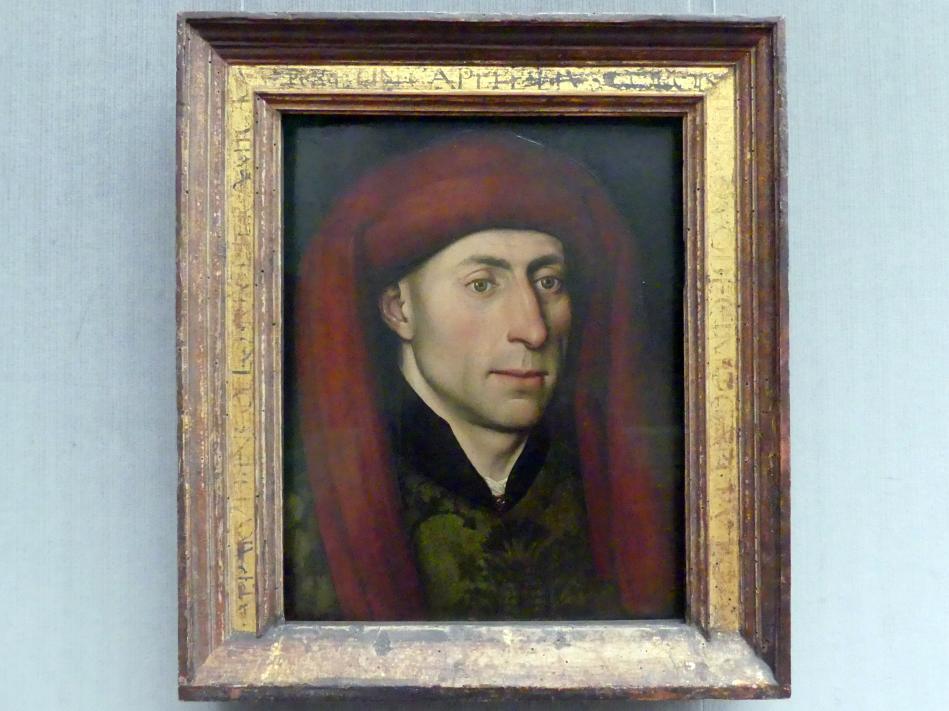 Bildnis eines Mannes mit rotem Chaperon, Undatiert