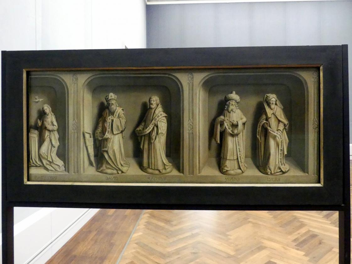 Simon Marmion: Szenen aus dem Leben des hl. Bertin, 1459
