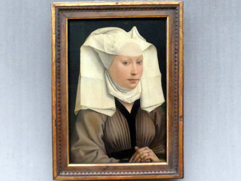 Rogier van der Weyden: Bildnis einer jungen Frau, um 1440 - 1445