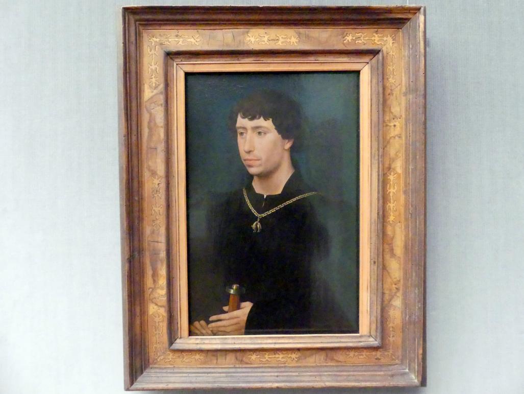 Rogier van der Weyden: Karl der Kühne, Herzog von Burgund (1433-1477) als Graf von Charolais, um 1461 - 1462