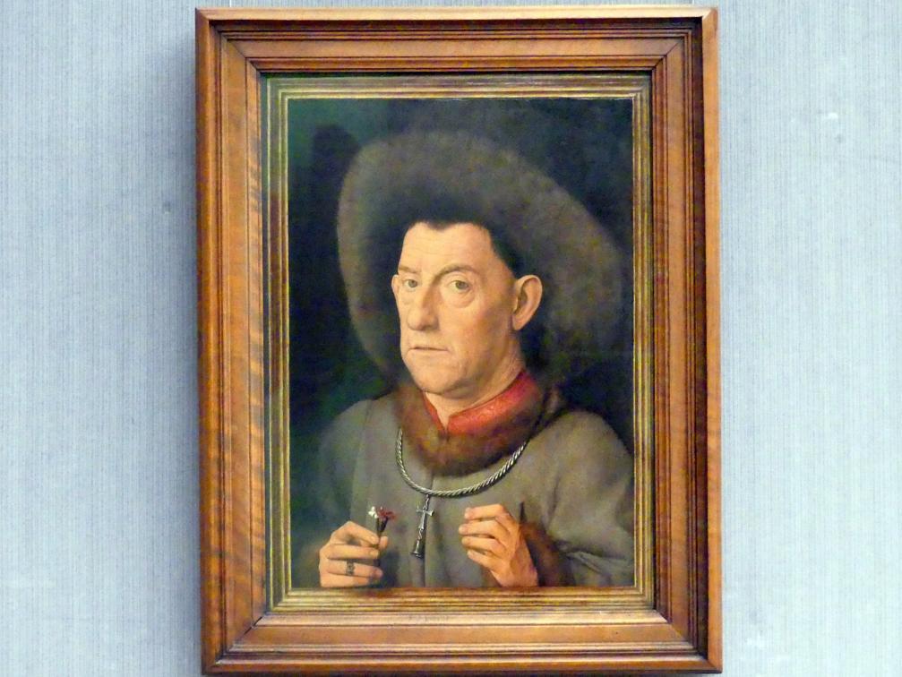 Jan van Eyck (Nachfolger): Der Mann mit den Nelken, Undatiert