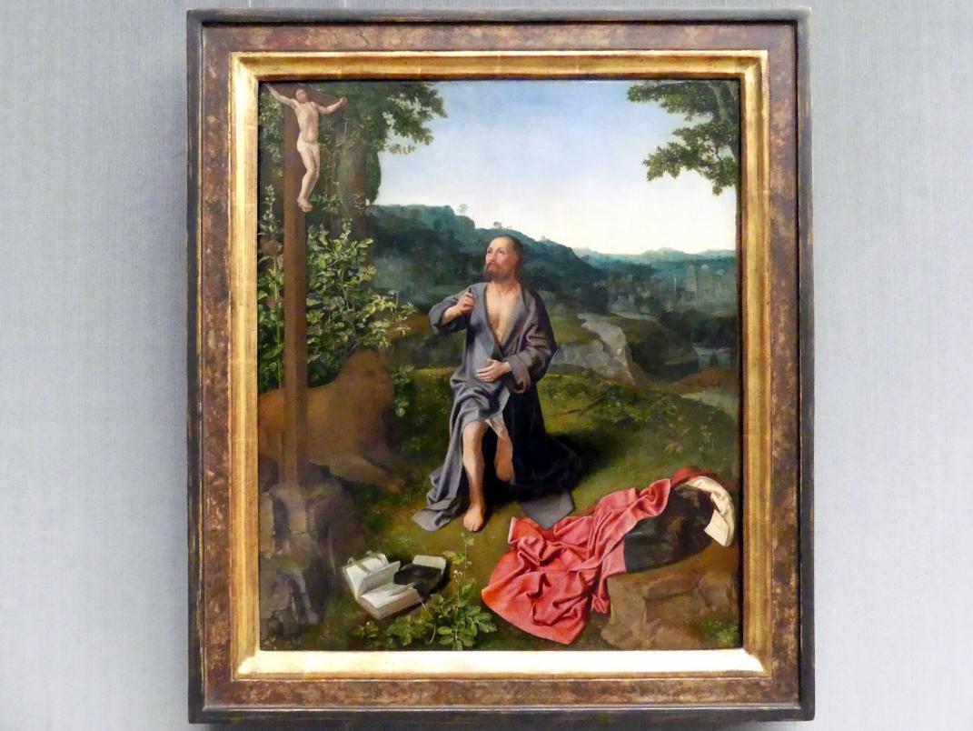 Meister des heiligen Ägidius: Der büßende hl. Hieronymus, um 1500