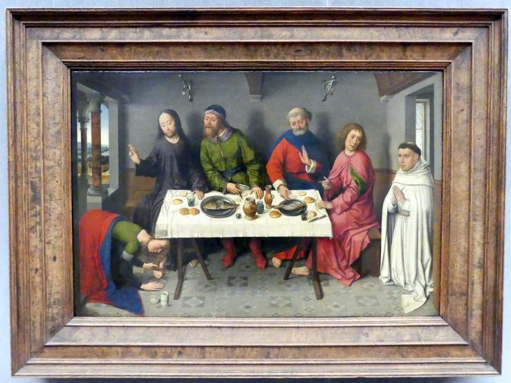Dieric Bouts d.Ä.: Christus im Haus des Pharisäers Simon, um 1460