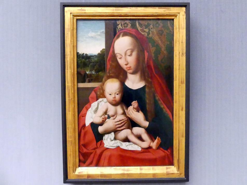 Geertgen tot Sint Jans: Maria mit dem Kind, Undatiert