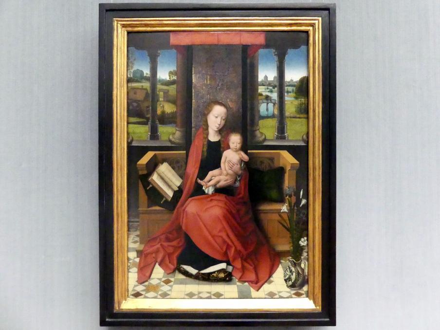 Hans Memling: Thronende Maria mit dem Kind, um 1480 - 1490