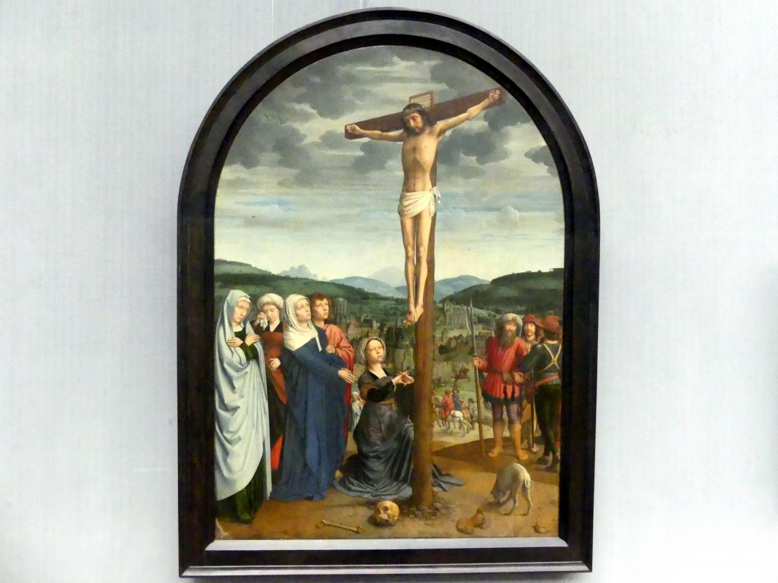 Gerard David: Christus am Kreuz, um 1515