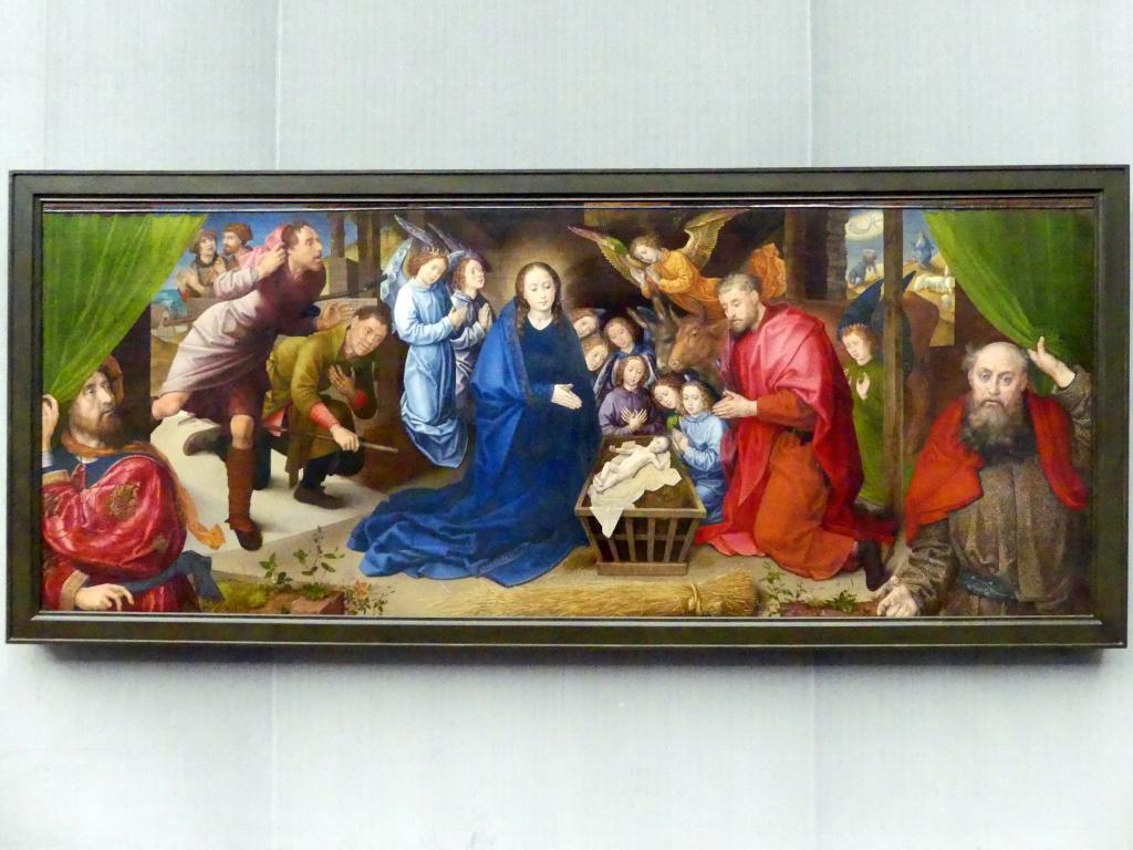 Hugo van der Goes: Die Anbetung der Hirten, um 1480