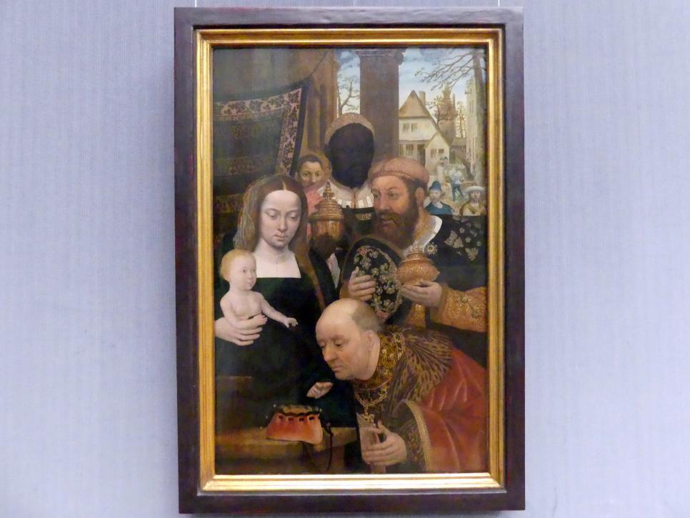 Die Anbetung der Könige, Um 1520