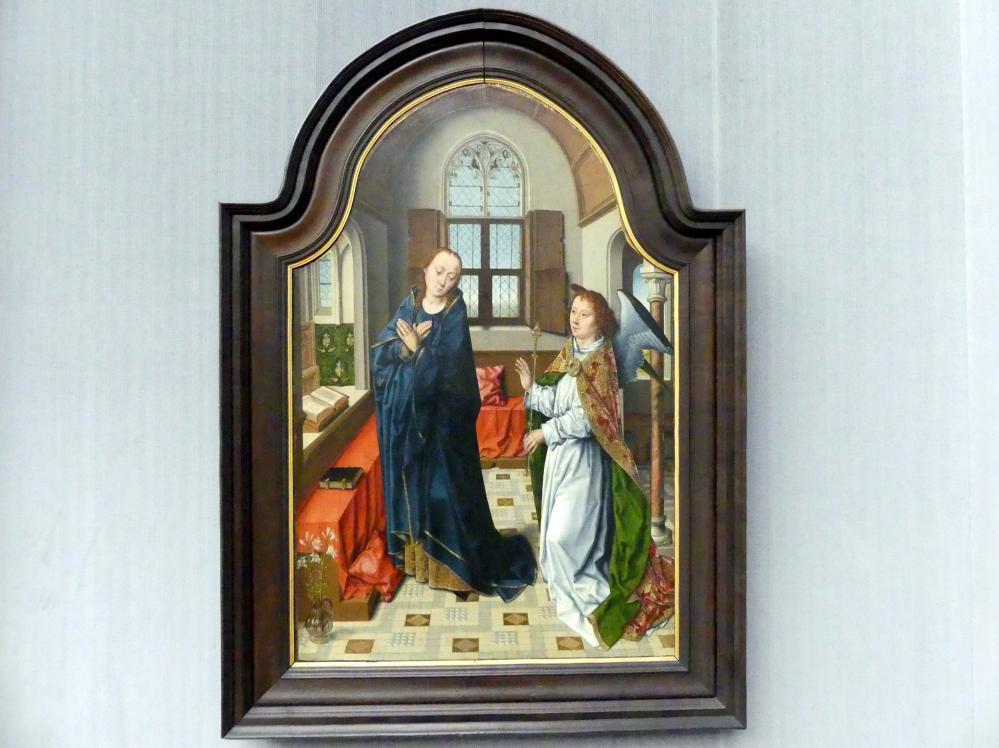 Albert (Aelbrecht) Bouts: Die Verkündigung an Maria, um 1480